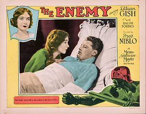 The Enemy (1927 film) - Lobby card