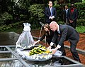 The Foreign Secretary and Angelina Jolie visit The genocide memorial in Kigali (8595014570).jpg