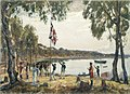 The Founding of Australia. By Capt. Arthur Phillip R.N. Sydney Cove, Jan. 26th 1788.jpg