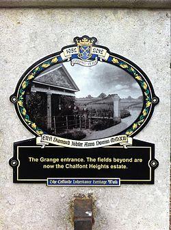 Photo of Black plaque № 12169