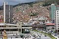 The Hillside from Plaza San Francisco, La Paz (Bolivia) (8289308346).jpg