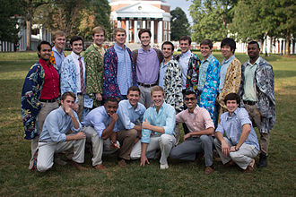 A cappella - The Hullabahoos, a popular a cappella group at the University of Virginia, were featured in the movie Pitch Perfect