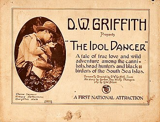 The Idol Dancer - Lobby card