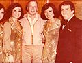 The Kim sisters with their drummer Leonard Espositio and Frank Sinatra.jpg
