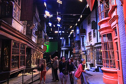 The Warner Bros. Making of Harry Potter Studio Tour at Leavesden