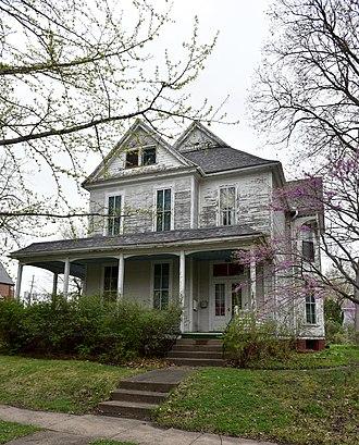 Maj. James W. McMullin House - Image: The Mc Mullin House
