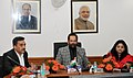 The Minister of State for Minority Affairs (Independent Charge) and Parliamentary Affairs, Shri Mukhtar Abbas Naqvi addressing the General Body Meeting of the Maulana Azad Education Foundation, in New Delhi.jpg