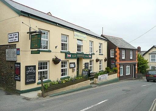 The Old Market Inn, Holsworthy - geograph.org.uk - 1852815