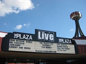 The Plaza Live - The Plaza Live located in Orlando, Florida