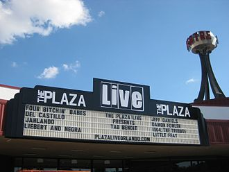Christina Grimmie - The Plaza Live, place where Grimmie was shot