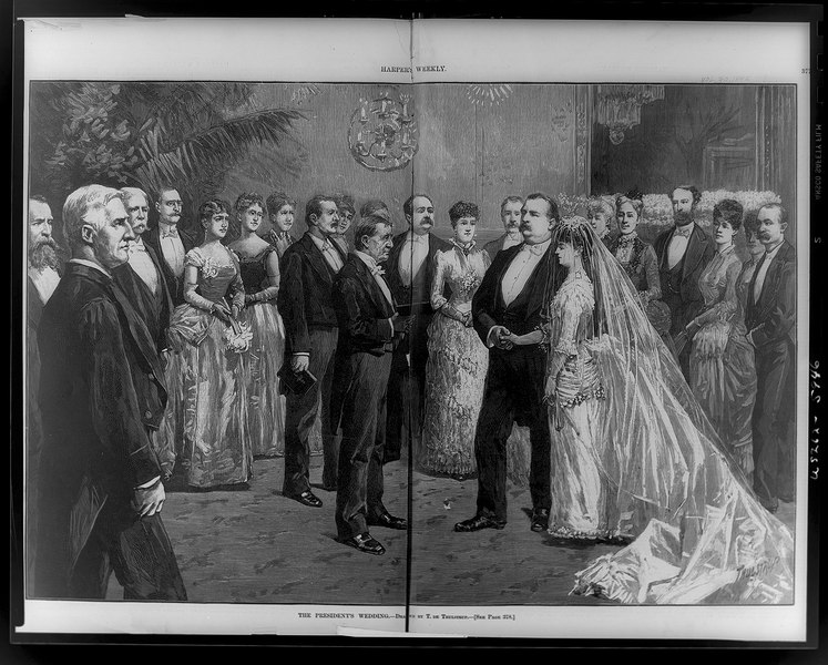 File:The President's wedding - (drawn) by T. de Thulstrup. LCCN96521736.tif