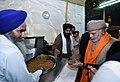 The Prime Minister, Shri Narendra Modi visiting the Golden Temple, in Amritsar, Punjab on December 03, 2016.jpg