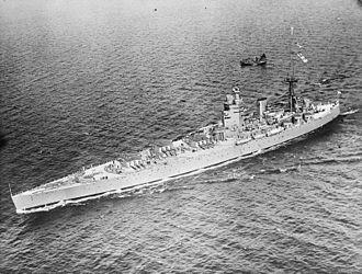 Nelson-class battleship - HMS Nelson