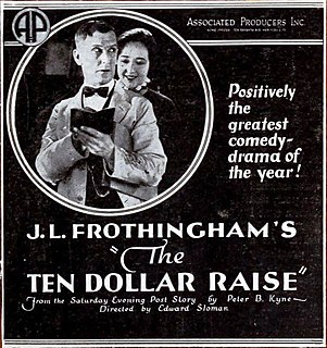 <i>The Ten Dollar Raise</i> 1921 film directed by Edward Sloman
