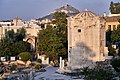 The Tower of Winds and Mount Lycabettus on October 18, 2019.jpg
