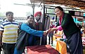 The Union Minister for Tribal Affairs, Shri Jual Oram inaugurated the National Tribal Crafts 'Mela Aadishilp', in New Delhi on November 26, 2014.jpg