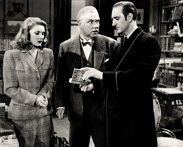 Sherlock Holmes And The Woman in Green Starring Basil Rathbone and Nigel Bruce