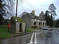 The bus shelter, Rodmarton - geograph.org.uk - 337155.jpg