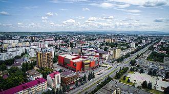 Cherkessk - View of the city