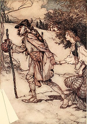King Thrushbeard - Image: The fairy tales of the Brothers Grimm (1916) (14780398774)