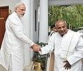 The former Prime Minister, Shri H.D. Deve Gowda calling on the Prime Minister, Shri Narendra Modi, in New Delhi on June 03, 2015.jpg