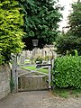 The gate at St Mary's church Collington - geograph.org.uk - 539878.jpg