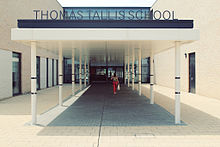 The new Thomas Tallis School entrance.jpg