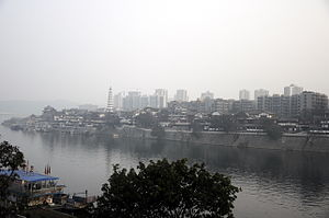 Hechuan District - A review of Hechuan city at the meeting point of Jialing River and Fu River