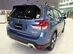 The rearview of Subaru 5AA-SKE FORESTER Advance.jpg