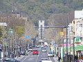 The street in front of Okayama University..JPG