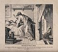 The widow's son returns to life in response to Elijah's pray Wellcome V0034857.jpg