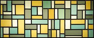Glas-in-loodcompositie VIII