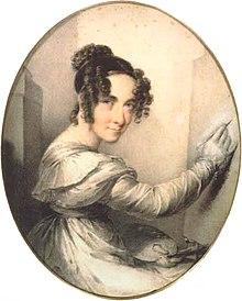 Therese aus dem Winckel: Selbstporträt (Quelle: Wikimedia)