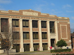 Wiley College - Image: Thirkield Hall, Wiley College, Marshall, TX IMG 2359