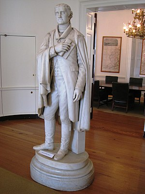 English: Statue of Thomas Jefferson by Alexand...