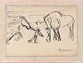 Three Horses Tended by Men; Stone Pavement MET DP-1562-002.jpg
