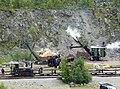 Threlkeld Quarry & Mining Museum - recreated quarry scene (geograph 4585820).jpg