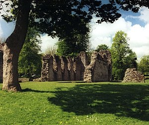 Cluniac priories in Britain - Dudley Priory, founded in the 11th Century in Dudley.