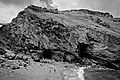 Tintagel Castle - Castle beach and the Haven (6238908270).jpg