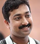 Tinucherian at Wikimania2010.jpg