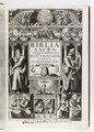 Titelblad till bibel från 1618 på latin - Skoklosters slott - 93188.tif