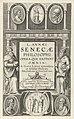 Titelpagina voor L. Annaei Senecae Philosophi Opera, 1615 L. Annaei Senecae Philosophi Opera (titel op object), RP-P-OB-6890.jpg