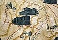 Tito chini, padiglione delle feste di castrocaro, atrio circolare, mappe della romagna e della sua riviera 03 terra del sole e castrocaro.JPG