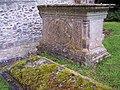 Tomb at St Leonards Church, Sutton Veny - geograph.org.uk - 473629.jpg
