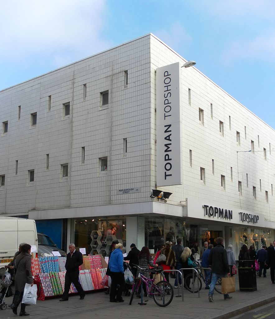File Topshop Formerly Johnson Brothers Furniture Store Western Road Brighton Jpg Wikimedia