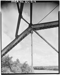Top chord at panel point - Sanders Ferry Bridge, State Highway 184, Spanning Savannah River, Iva, Anderson County, SC HAER SC,4-SAVRI,1-9.tif