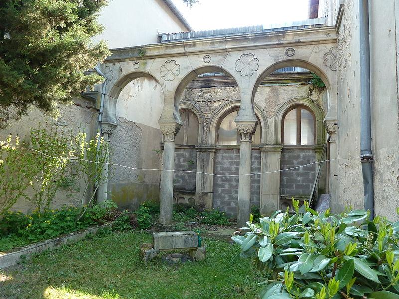 Toul Synagogue portique