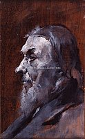 Toulouse-Lautrec - TETE D'HOMME A BARBE BLANCHE, 1880, MTL.46.jpg