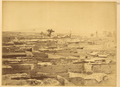 Town of Suzhou Fu, which was Razed to the Ground in 1872 during the Uprising. Jiuquan, Gansu Province, China, 1875 WDL2069.png