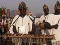 Traditional Xylophone player from Northen Nigeria.jpg